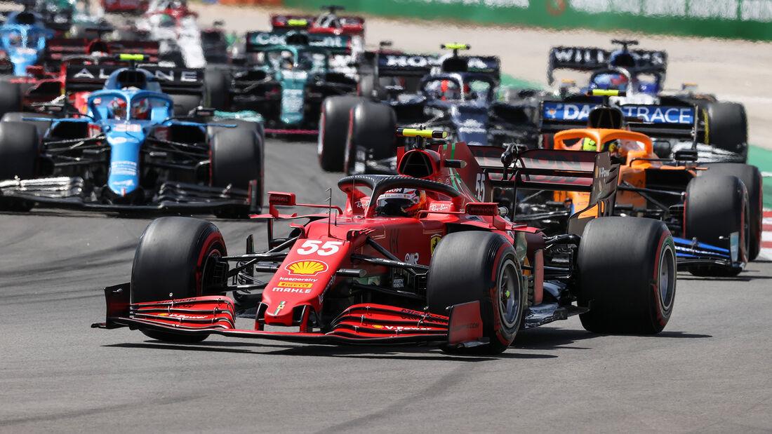 Carlos Sainz - Formel 1 - GP Portugal 2021