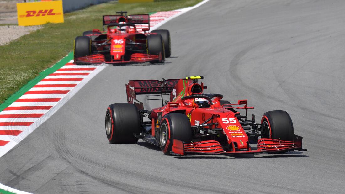 Carlos Sainz - Formel 1 - GP Spanien 2021