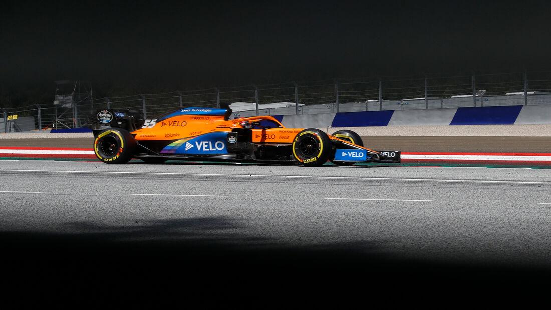 Carlos Sainz - Formel 1 - GP Steiermark - Österreich - 2020