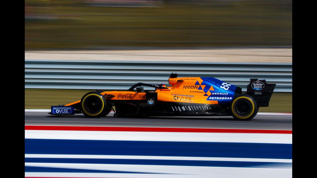 Carlos Sainz  - Formel 1 - GP USA 2019
