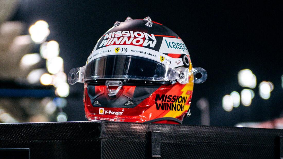 Carlos Sainz - Formel 1 - Helm - 2021