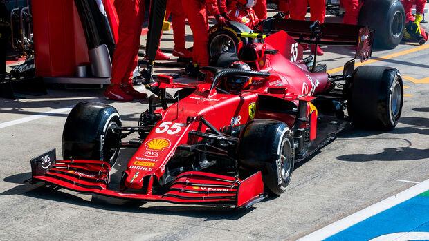 Carlos Sainz - Formel 1 - Silverstone - GP England 2021