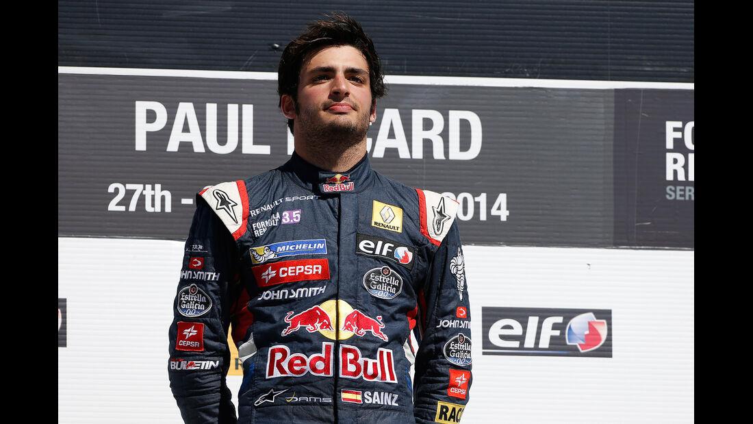 Carlos Sainz - Formel Renault 3.5 - 2014