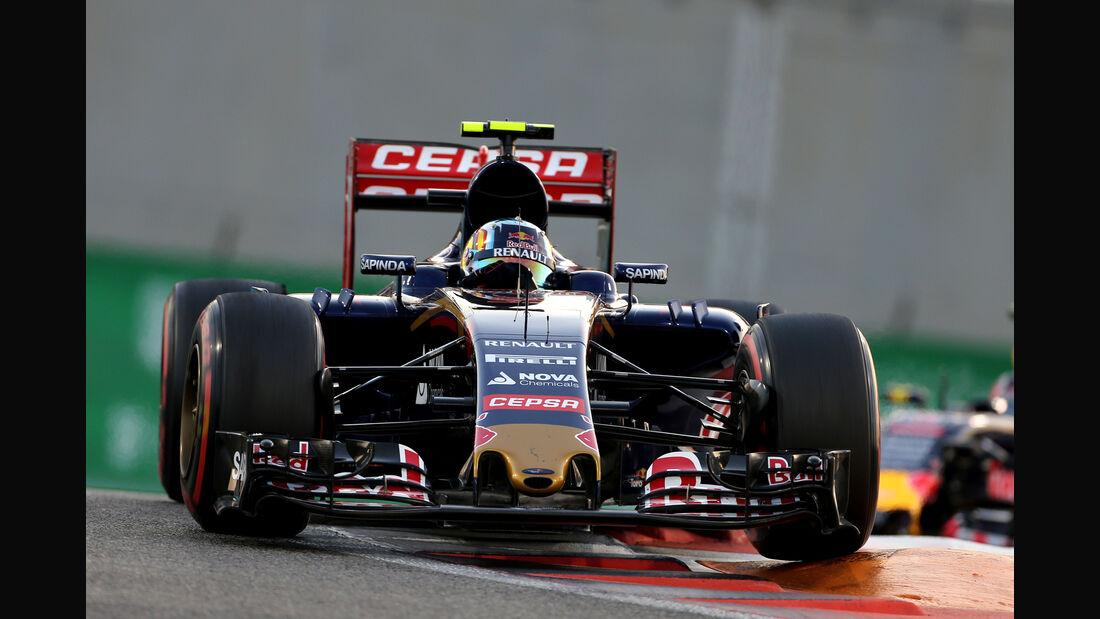 Carlos Sainz - GP Abu Dhabi 2015