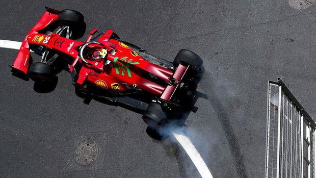 Carlos Sainz - GP Aserbaidschan 2021