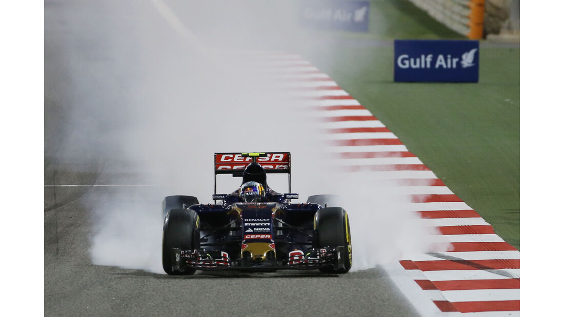 Carlos Sainz - GP Bahrain 2015