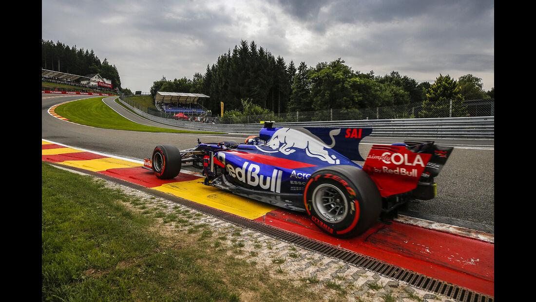 Carlos Sainz - GP Belgien 2017
