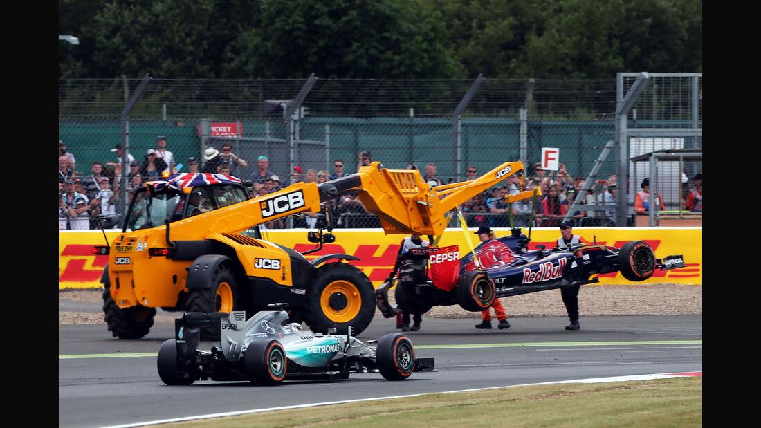 Carlos Sainz - GP England 2015