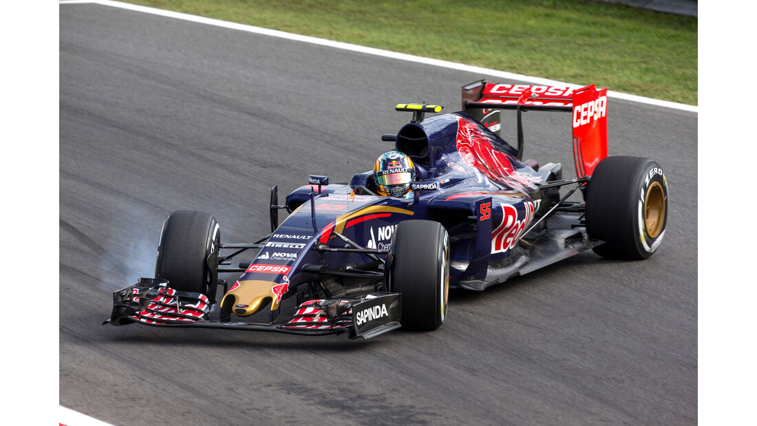 Carlos Sainz - GP Italien 2015