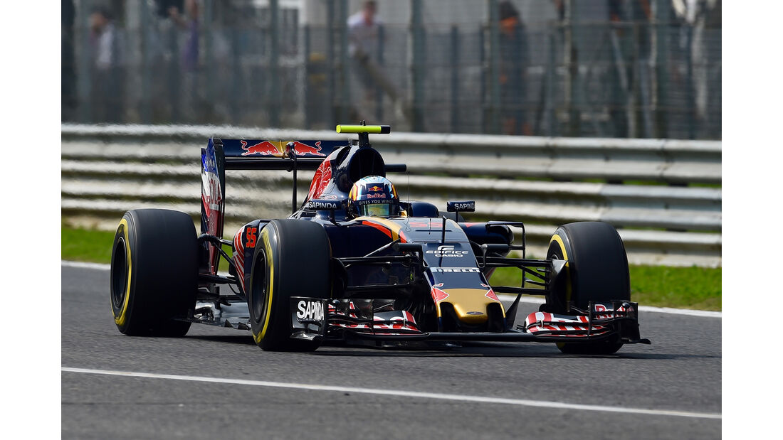Carlos Sainz - GP Italien 2016