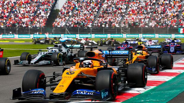 Carlos Sainz - GP Mexiko 2019