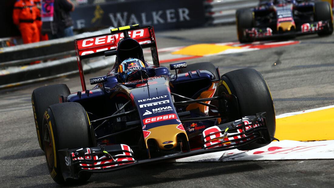 Carlos Sainz - GP Monaco - Formel 1 - 23. Mai 2015
