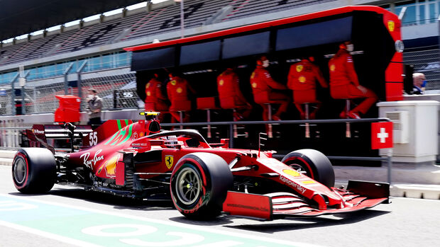 Carlos Sainz - GP Portugal - Formel 1 - 2. Mai 2021