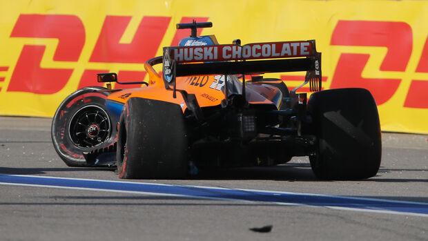 Carlos Sainz - GP Russland - Sotschi - Formel 1 - 2020