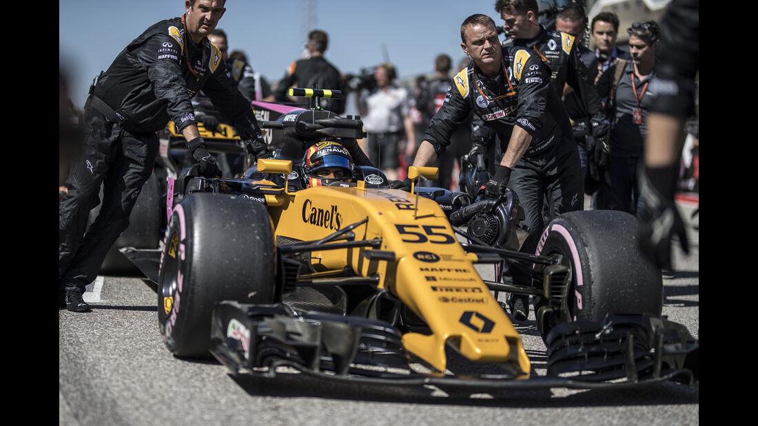 Carlos Sainz - GP USA 2017