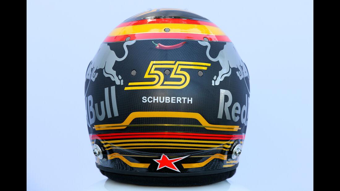 Carlos Sainz - Helm - Formel 1 - 2018