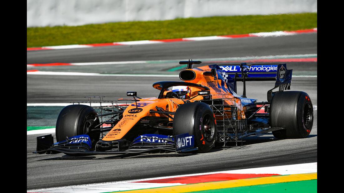 Carlos Sainz Jr. - McLaren - F1-Test - Barcelona  - 14. Mai 2019
