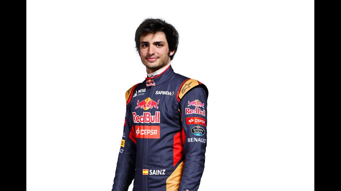 Carlos Sainz Jr - Porträt - Formel 1 - 2015