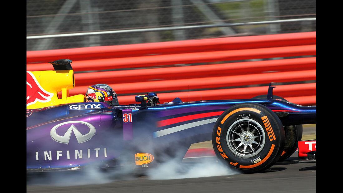 Carlos Sainz Jr. - Red Bull - Young Drivers Test - Silverstone - 19. Juli 2013