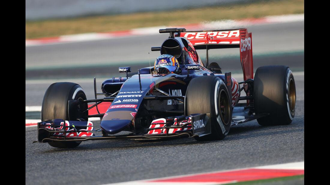 Carlos Sainz Jr. - Toro Rosso - Formel 1-Test - Barcelona - 19. Februar 2015