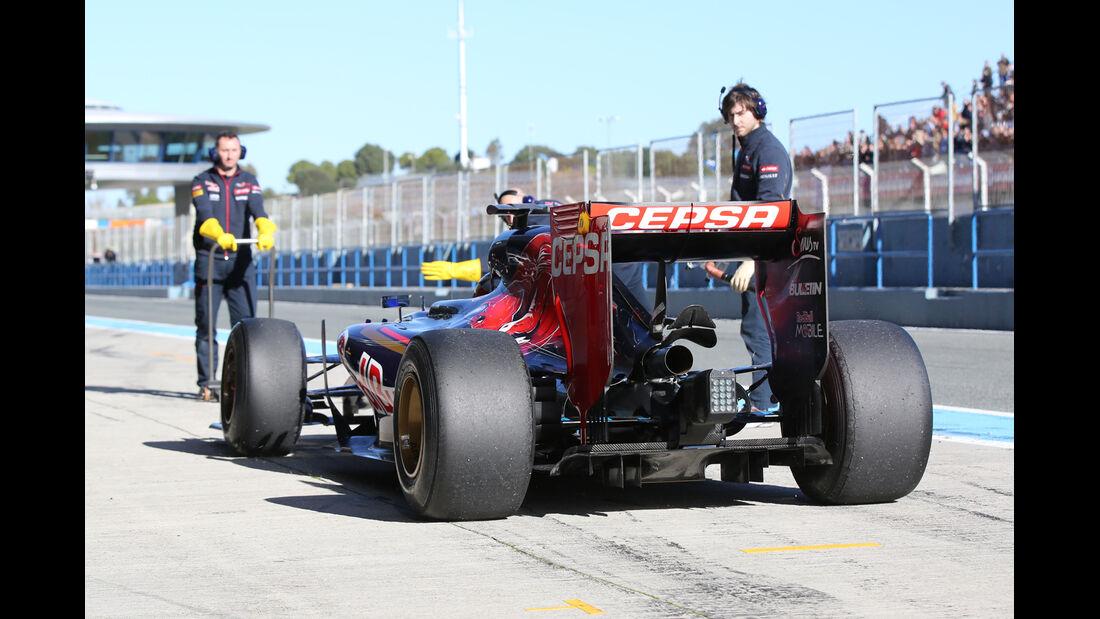Carlos Sainz Jr. - Toro Rosso - Formel 1-Test Jerez - 1. Febraur 2015
