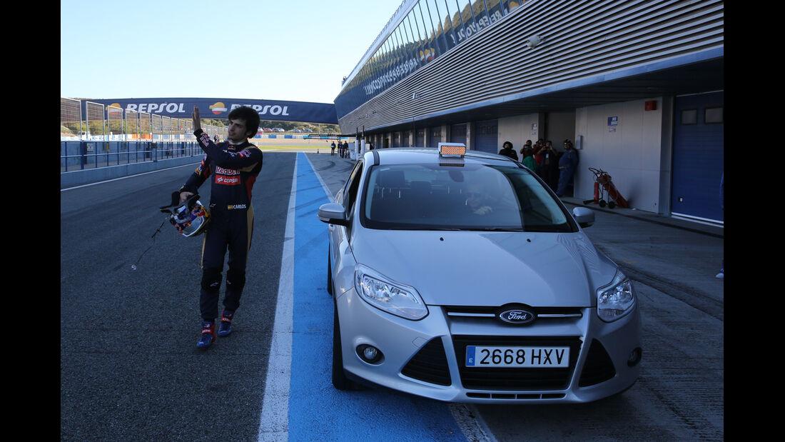 Carlos Sainz Jr - Toro Rosso - Formel 1-Test Jerez - 1. Februar 2015