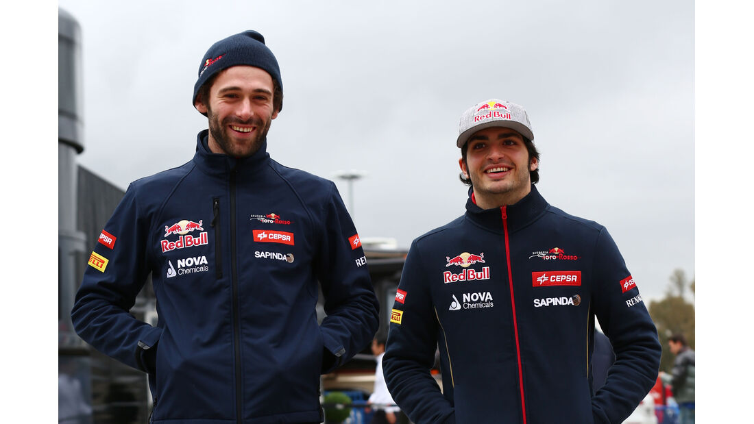 Carlos Sainz Jr. - Toro Rosso - Formel 1-Test - Jerez - 2. Februar 2015