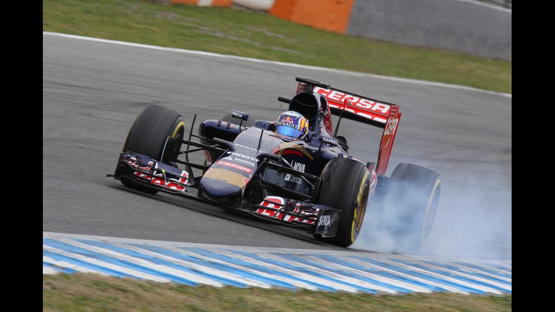 Carlos Sainz Jr - Toro Rosso - Formel 1-Test - Jerez - 3. Februar 2015