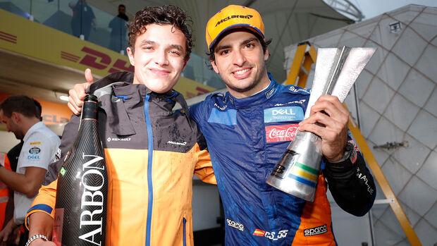 Carlos Sainz & Lando Norris - GP Brasilien 2020
