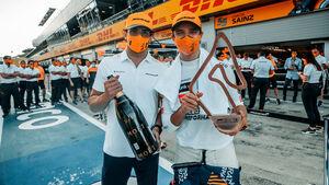 Carlos Sainz & Lando Norris - GP Österreich 2020