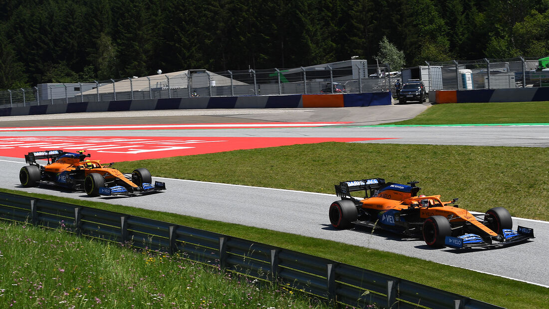 Carlos Sainz & Lando Norris - GP Steiermark - Österreich 2020