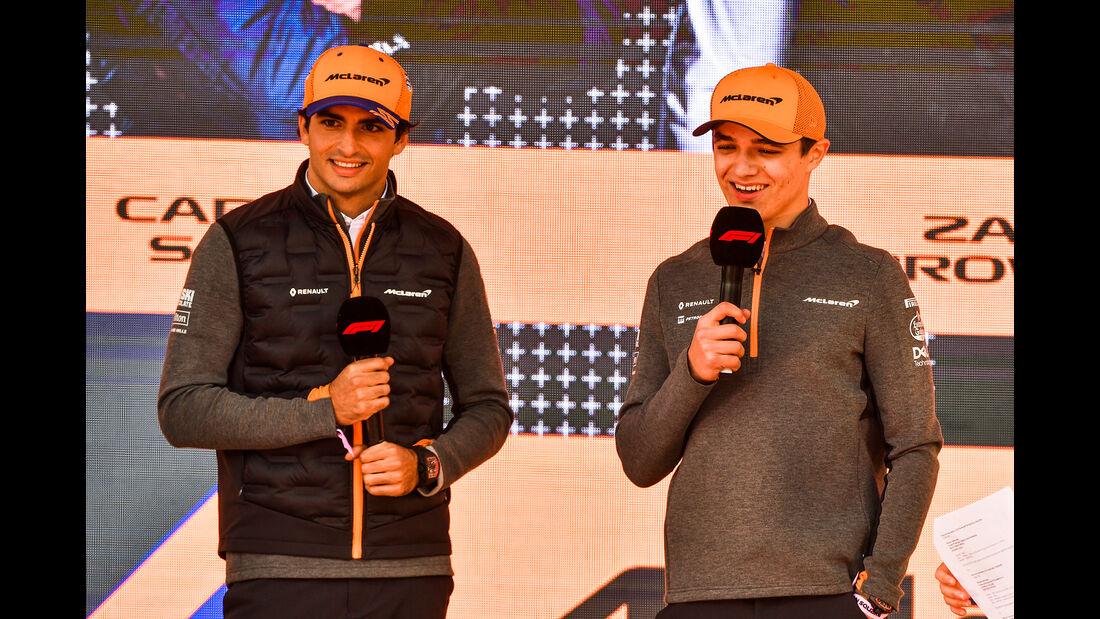 Carlos Sainz & Lando Norris - McLaren - Formel 1 - GP Australien - Melbourne - 13. März 2019