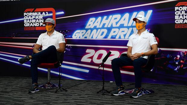 Carlos Sainz - Lando Norris - McLaren - GP Bahrain 2020 - Sakhir