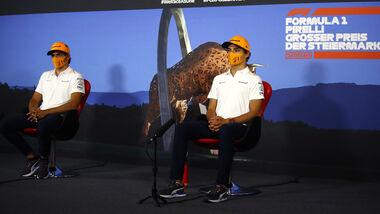 Carlos Sainz - Lando Norris - McLaren - GP Steiermark 2020 - Spielberg