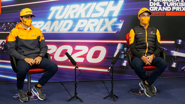 Carlos Sainz - Lando Norris - McLaren - GP Türkei 2020 - Istanbul