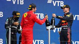 Carlos Sainz & Max Verstappen - GP Russland 2021