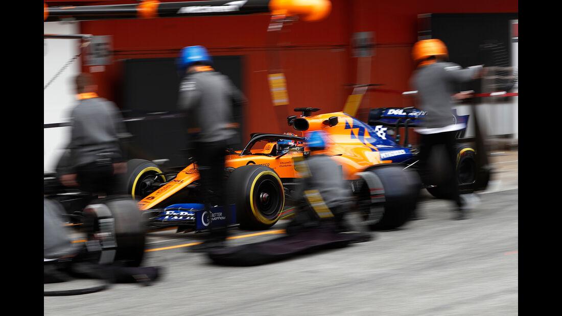 Carlos Sainz - McLaren - Barcelona - F1-Test - 20. Februar 2019