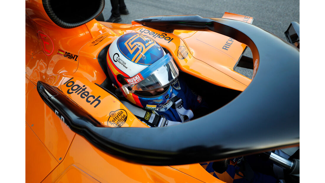 Carlos Sainz - McLaren - Barcelona - F1-Test - 27. Februar 2019