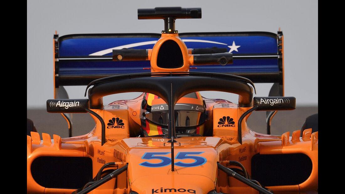 Carlos Sainz - McLaren - F1-Test - Abu Dhabi - 28. November 2018