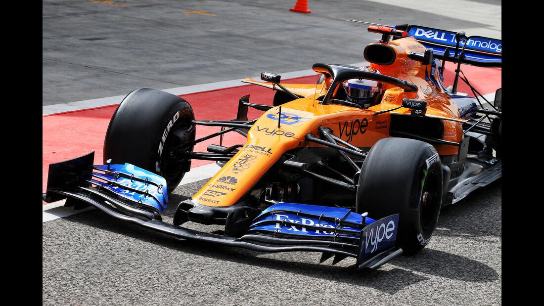 Carlos Sainz - McLaren - F1-Test - Bahrain - 2. April 2019