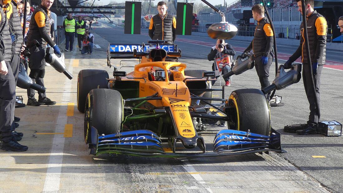 Carlos Sainz - McLaren - F1-Test - Barcelona - 21. Februar 2020