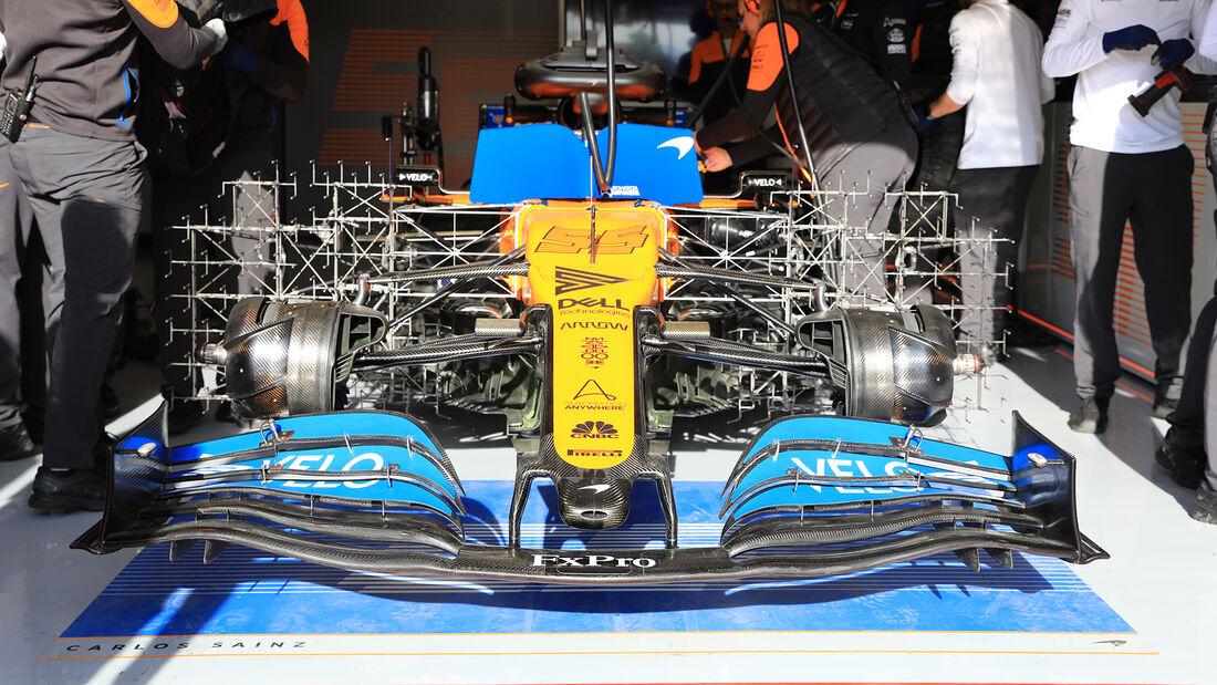 Carlos Sainz - McLaren - F1-Test - Barcelona - 26. Februar 2020