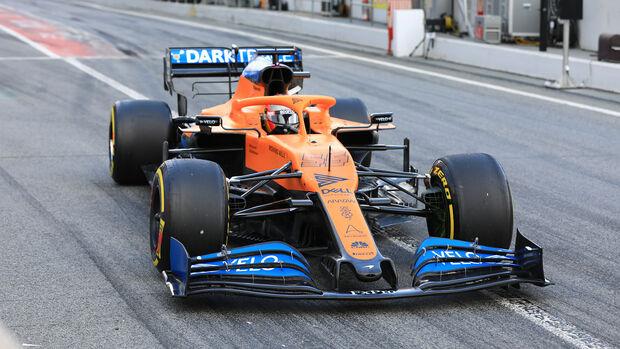 Carlos Sainz - McLaren - F1-Test - Barcelona - 28. Februar 2020