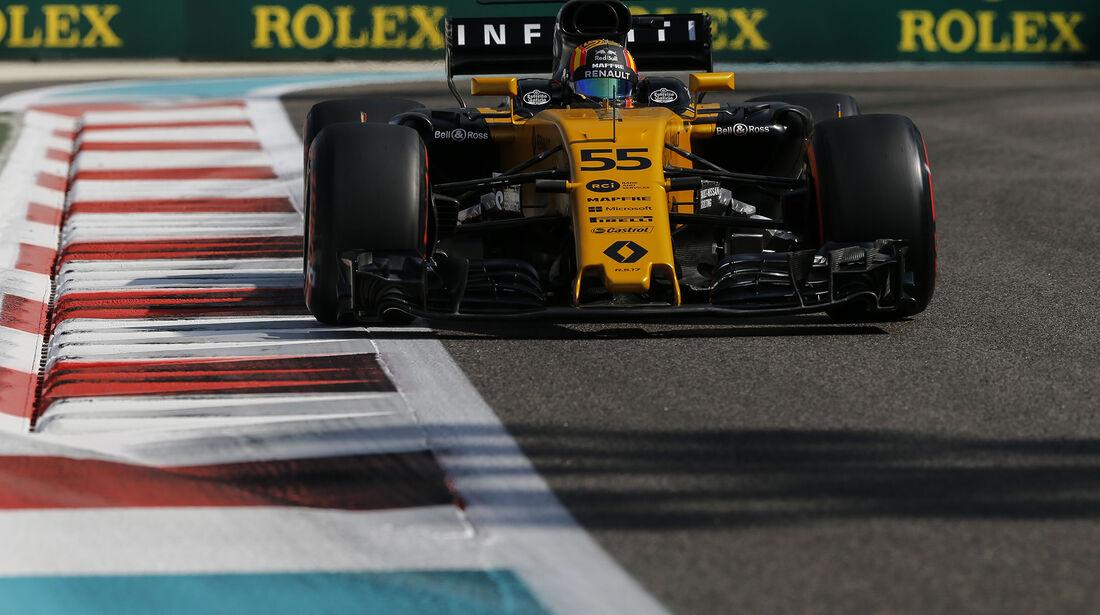 Carlos Sainz - McLaren - Formel 1 - GP Abu Dhabi - 24. November 2017