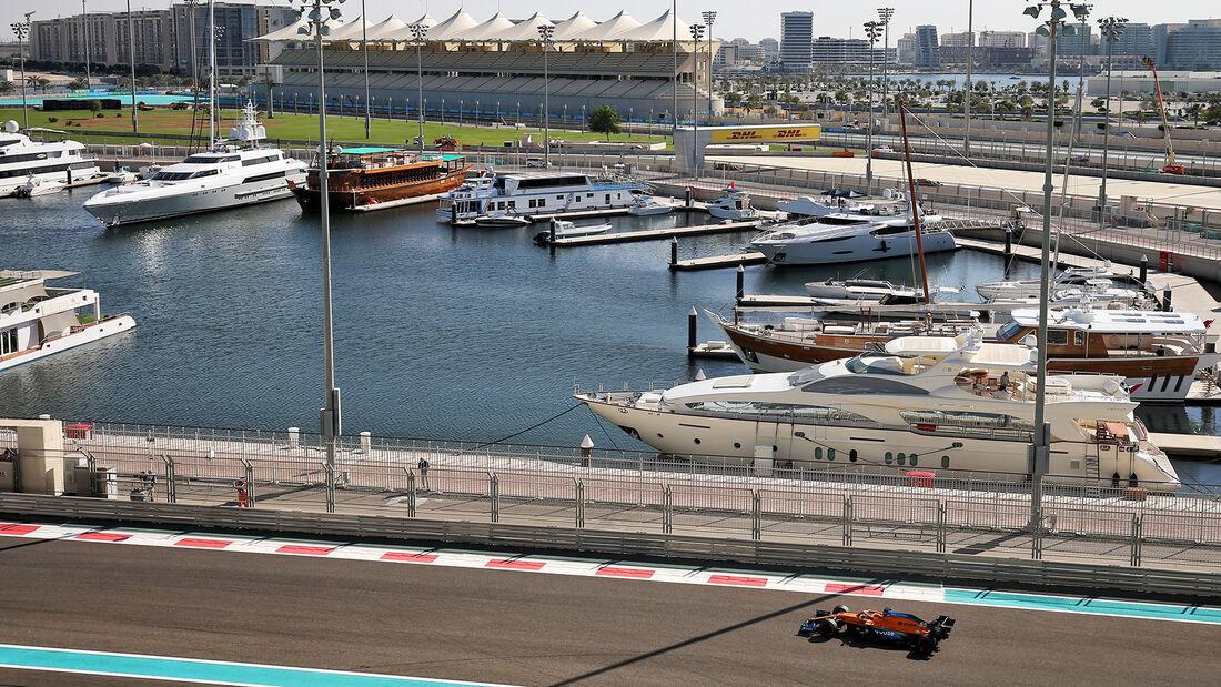 Carlos Sainz - McLaren - Formel 1 - GP Abu Dhabi - Freitag - 11.12.2020