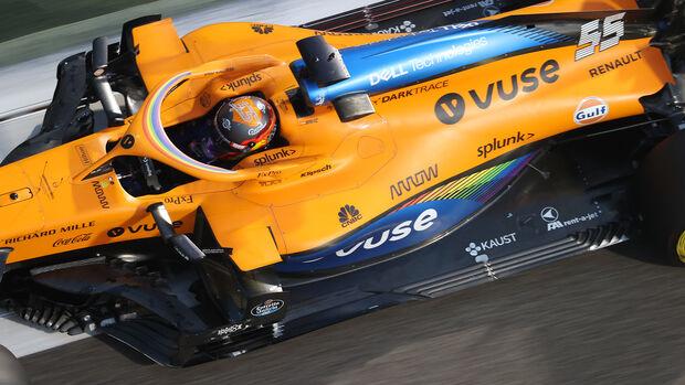 Carlos Sainz - McLaren - Formel 1 - GP Abu Dhabi - Samstag - 12.12.2020
