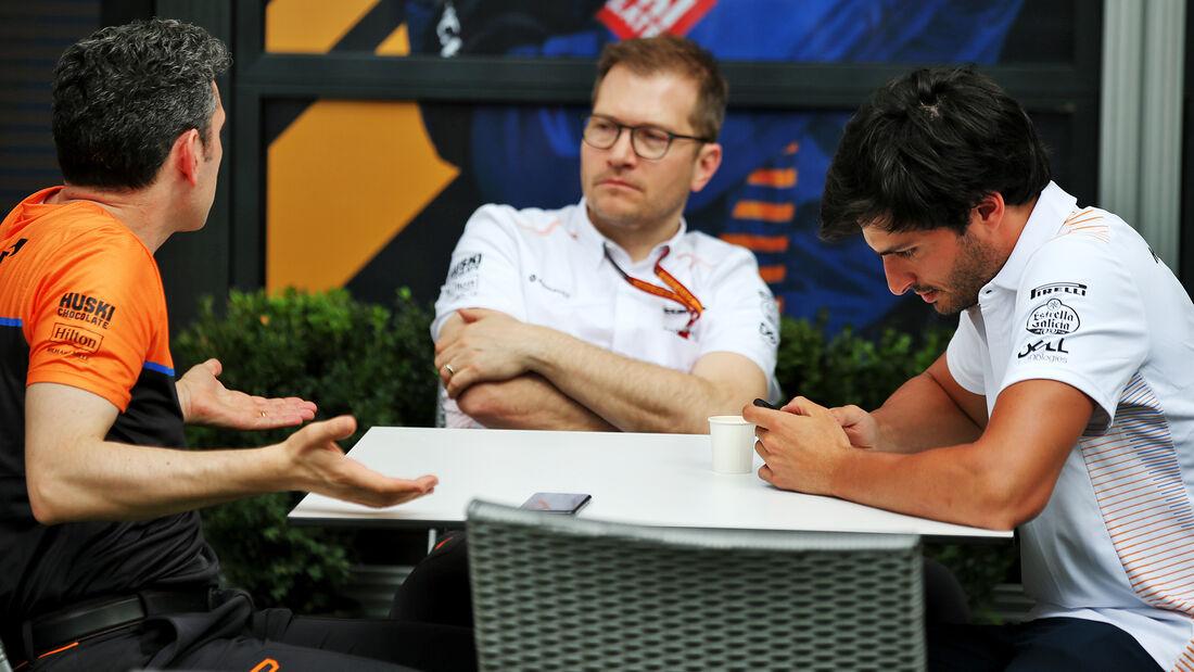 Carlos Sainz - McLaren - Formel 1 - GP Australien - Melbourne - 11. März 2020