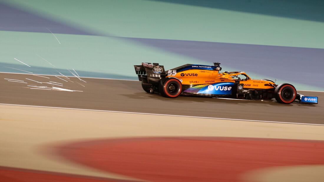Carlos Sainz - McLaren - Formel 1 - GP Bahrain - Sakhir - Freitag - 27.11.2020