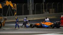 Carlos Sainz - McLaren - Formel 1 - GP Bahrain - Sakhir - Qualifikation - Samstag - 28.11.2020