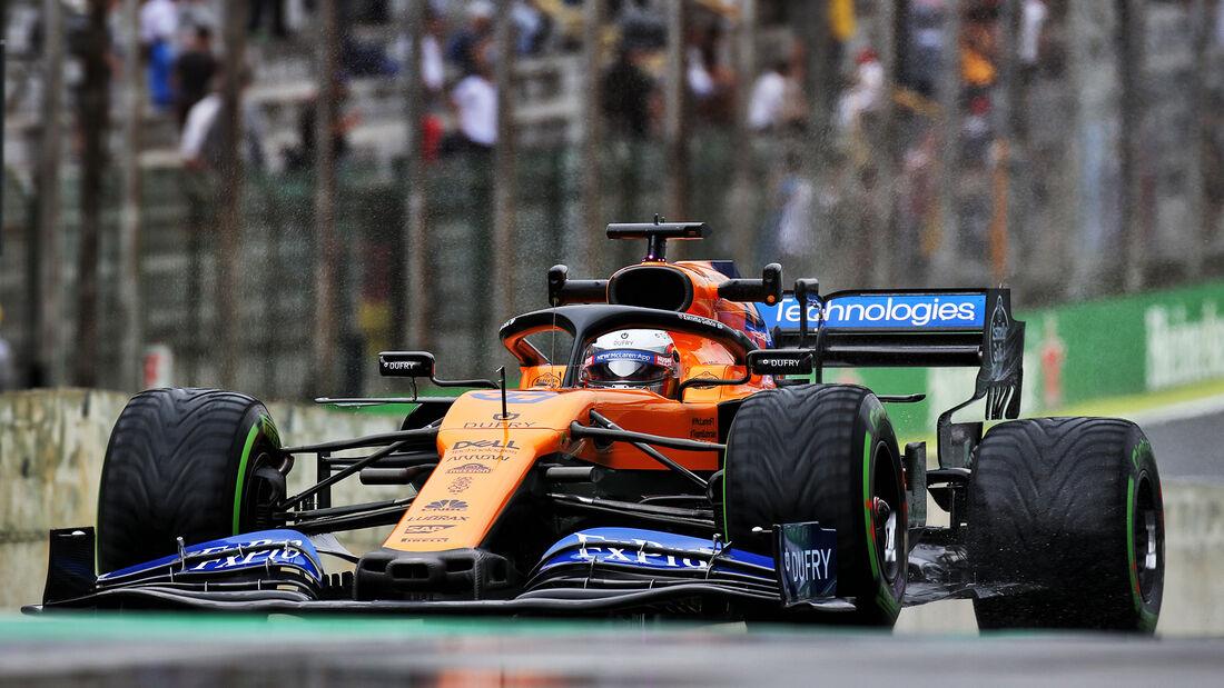 Carlos Sainz - McLaren - Formel 1 - GP Brasilien - Sao Paulo - 15. November 2019